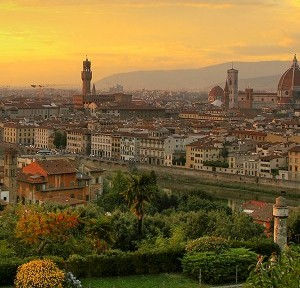 Few things are more spectacular than the gorgeous views of Florence that you'll see if you're willing to climb the 463 steps of the Basilica di Santa Maria del Fiore, which was constructed in the 1200s.