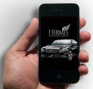 Use the Hermes mobile app to book luxury transportation in a matter of minutes.